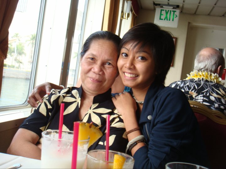 mother and me in 2010